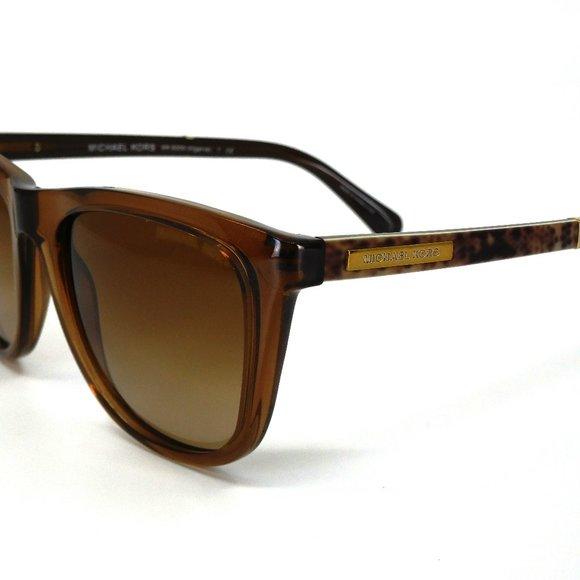 "MICHAEL KORS Brown w/ Animal Print Sunglasses ""MK 6009 (Algarve)"""
